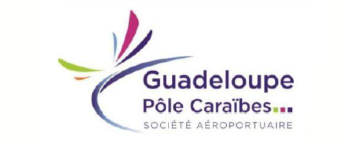 Création site de l'aéroport de Guadeloupe