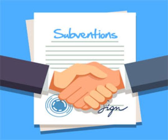 Trouvez une subvention pour la création d'un site web