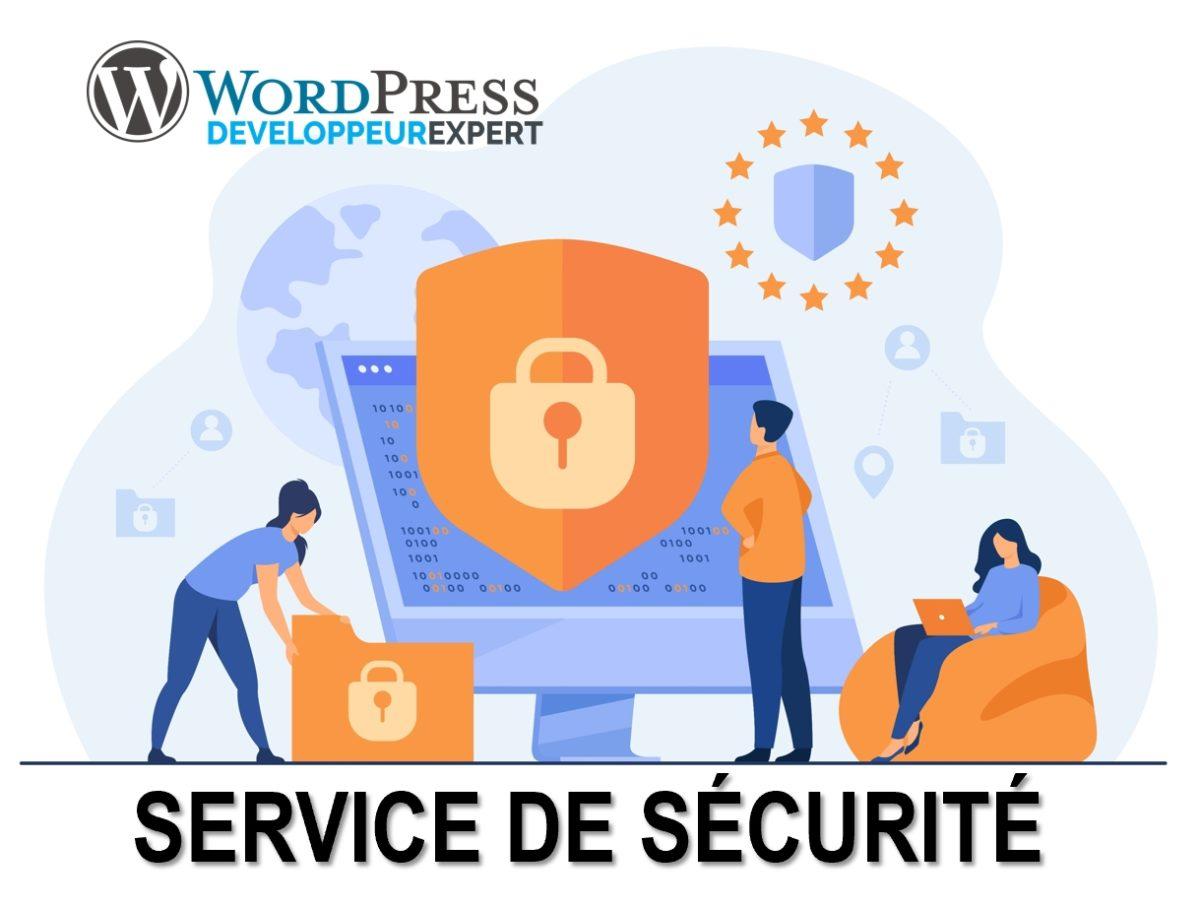 L'équipe de Développeur Expert vous propose ses services pour sécuriser votre site web WordPress.
